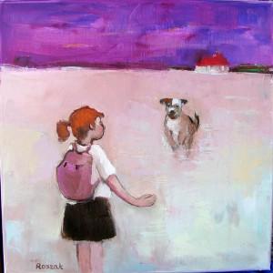 oil on canvas original artwork basia roszak