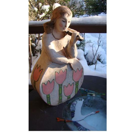ceramic girl